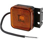 Boczne światło gabarytowe LED ze wspornikiem i przewodem 24 V do MAN