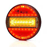 Pięciokomorowe światła LED okrągłe 12/24V