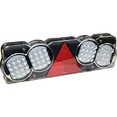24V LED światło biegu wstecznego lewe (p