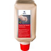 Specjalny środek do mycia rąk z granulatem z orzecha włoskiego