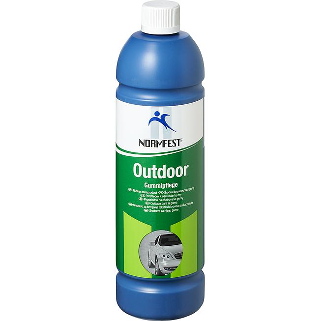 Outdoor - środek do pielęgnacji plastików i gum na zewnątrz pojazdu