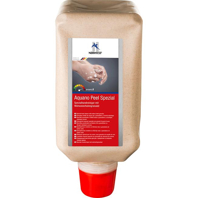 Specjalny środek do mycia rąk z granulatem z orzecha włoskiego Aquano Peel Spezial