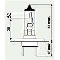 12V H7 LONGLIFE 55W  (PHILIPS)