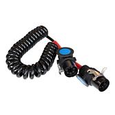 Kabel EBS spiralny 24V/7 POL