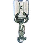 Wtyk konektor.6,3 0,5-1,5 z zabezp.