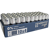 Baterie 40 sztuk