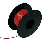 Przewód szaro-czerwony , szpula 50m