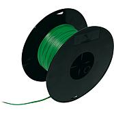 Przewód czarno-zielony, szpula 50m