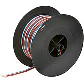 Kabel płaski 25m  4x0,75