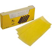 Papier ścierny paski żółty Z 80
