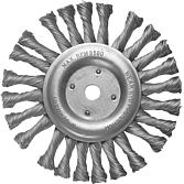 Uniwersalna szczotka pleciona 115 mm