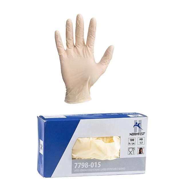 """Rękawice jednorazowe """"LATEKS"""""""