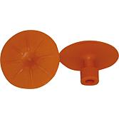 Zest.grzybki napr.40mm,ORANGE,INH.2