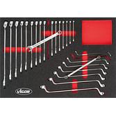VIGOR-Werkzeuge in Weichschaum-Einlage